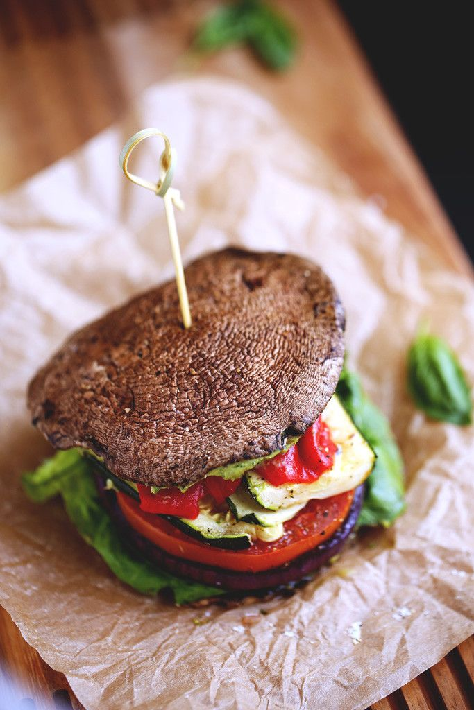 Roasted Vegetable Sandwich with Avocado-Basil Aioli   #BlissfulBasil