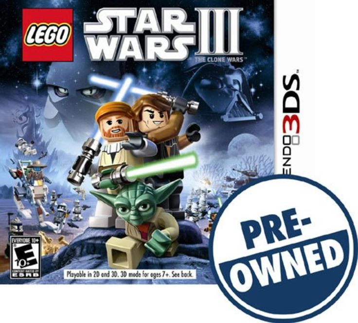Lego Star Wars III: The Clone Wars — PRE-Owned - Nintendo 3DS