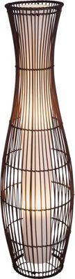 Living Skittle Rattan Floor Lamp. | Homebase