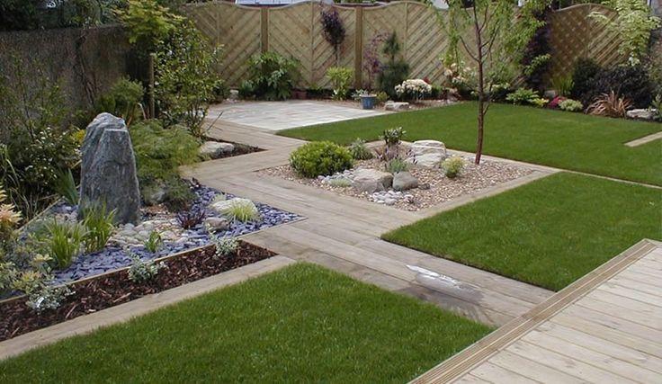 contemporary garden designs for small gardens - Google Search