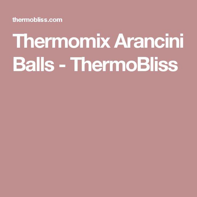 Thermomix Arancini Balls - ThermoBliss