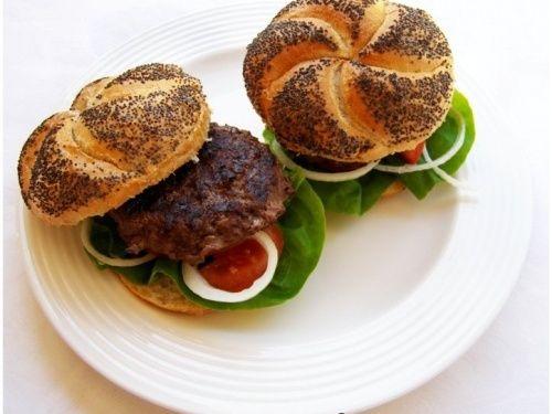 Healthy Hamburgers recipe