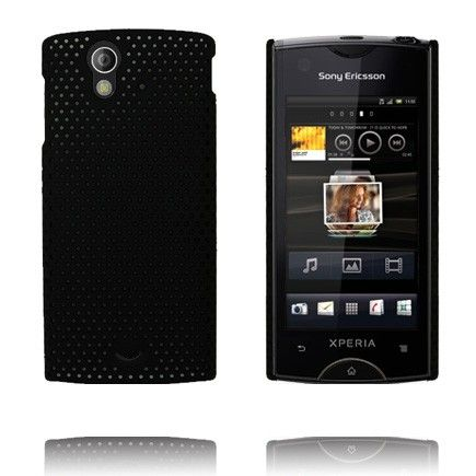Atomic (Sort) Sony Ericsson Xperia Ray Deksel