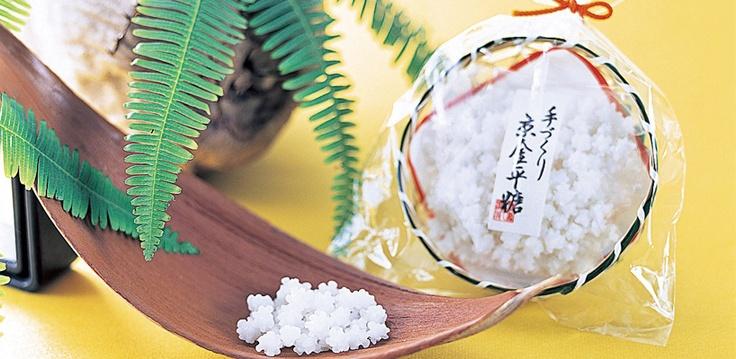 "Japanese Confectionary|""Wagashi"" :金平糖|京都の老舗「緑寿庵清水」"
