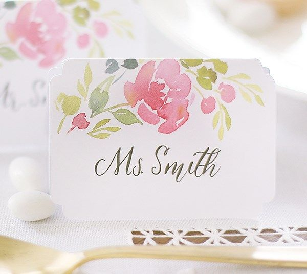 Best 10 Print Your Own Wedding Place Cards Ideas On Pinterest