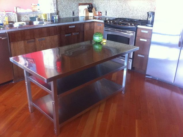 Best 25+ Stainless steel table top ideas on Pinterest | Stainless ...