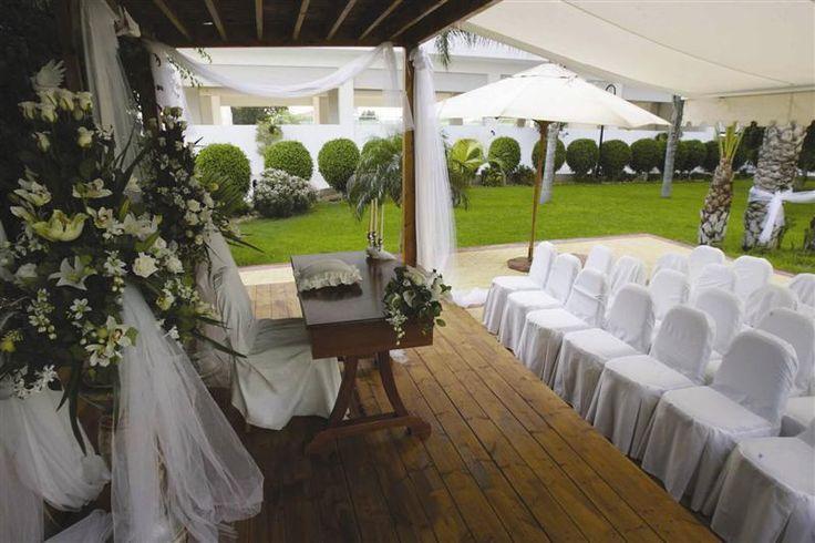 Garden Wedding Setup....would do it all again