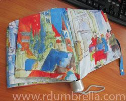 Alu Fiber - 3 Folding [Watercolor Paint]