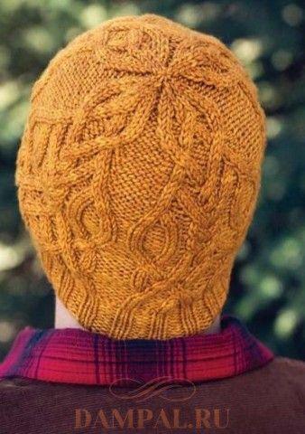 Мужская вязаная шапка «Montgolfier»