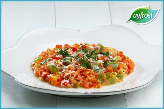 Menemen - #ayfrost #biber #domates #sogan #tarif #dogal #tazedondurulmus #kullanimahazir #pratik #kolay #lezzetli #saglikli #tomato #onion #pepper #recipe #natural #freshfrozen #readytouse #easy #delicious #healthy