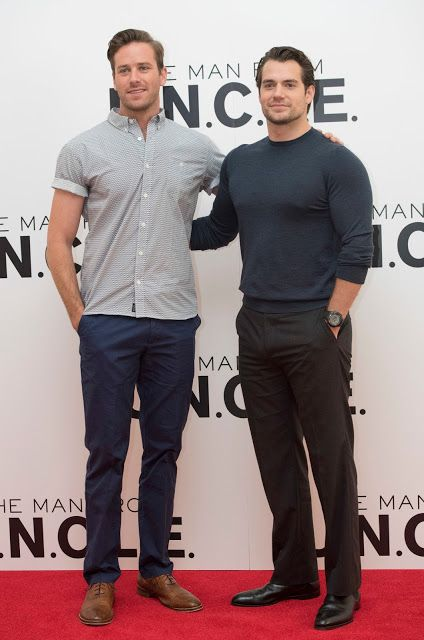 Henry Cavill News: Hot Spies In London: The Man From U.N.C.L.E. Photocall