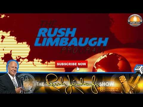 The Rush Limbaugh Show Podcast July 3, 2017 The Rush Limbaugh Show July 3, 2017. Please subscribe to our channel and share videos, thank you!