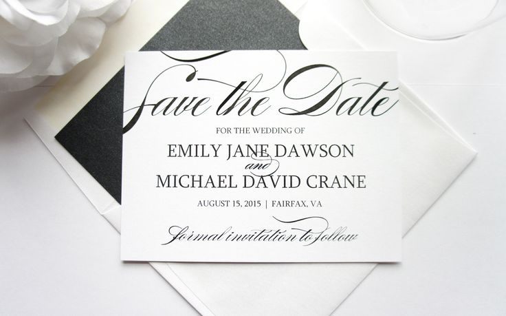 Online save the date creator in Brisbane