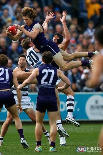 Nat Fyfe, this kid can play footy