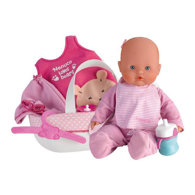 Canastilla Toysrus 2020.Muneco Nenuco Baby Con Canastilla Cotton Line En 2020 Mono