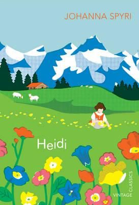 Heidi, a book from childhood. I'm thinking I might read it as I tramp the Swiss alps...