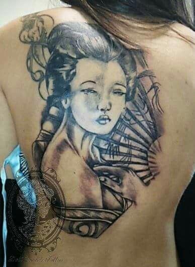#geisha #tattoo