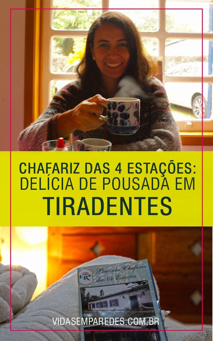 Conheça essa pousada perfeita para quem procura conforto e ótimo preço em Tiradentes, Minas Gerais.