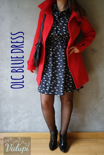 Valupi - Handmade with love: Outfit low cost: Blue dress