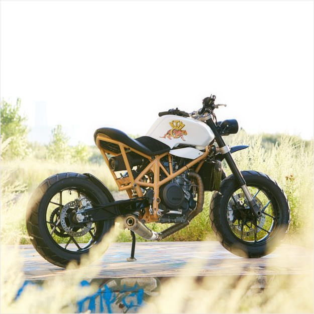 Rear of the Year: KTM 690 'Daisy Duke' by Federal Moto   Bike EXIF