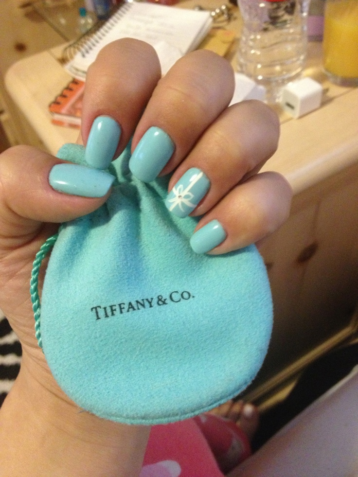 Best 25 tiffany nails ideas on pinterest tiffany blue nails tiffany nails want to try this soon prinsesfo Gallery