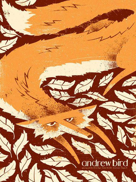 Andrew Bird poster
