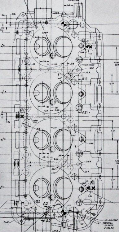 181 best blueprints motors images on pinterest mechanical cncenginedynamics blueprint 426 hemi head mechanics malvernweather Gallery