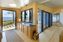 Summer cottage in Finland - the link is all in Finnish, so for all I know, it says your stay is provided in exchange for organs. But it looks nice!