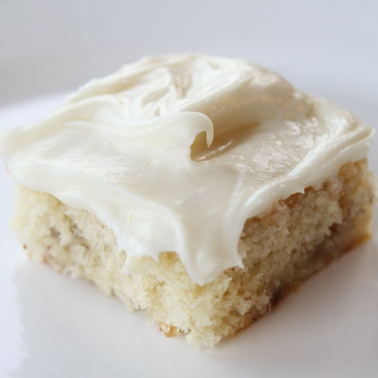 Banana Bars with Cream Cheese Frosting: may be the best thing banana that I've ever eaten! @Itsy Bitsy Foodies