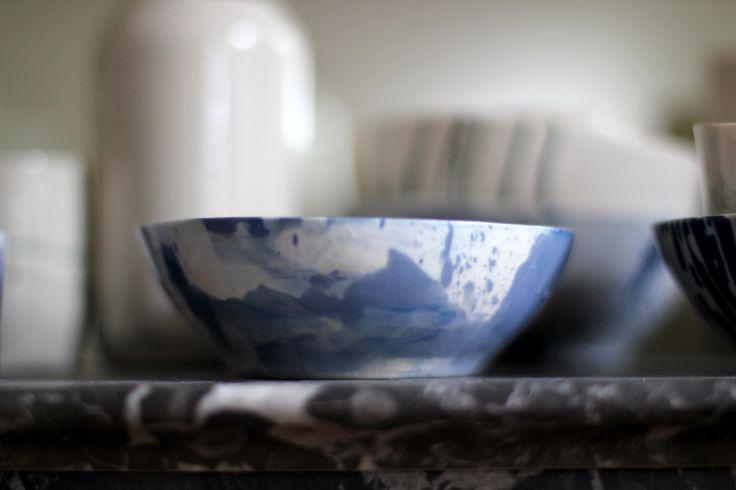 bowl made Paris-Melbourne