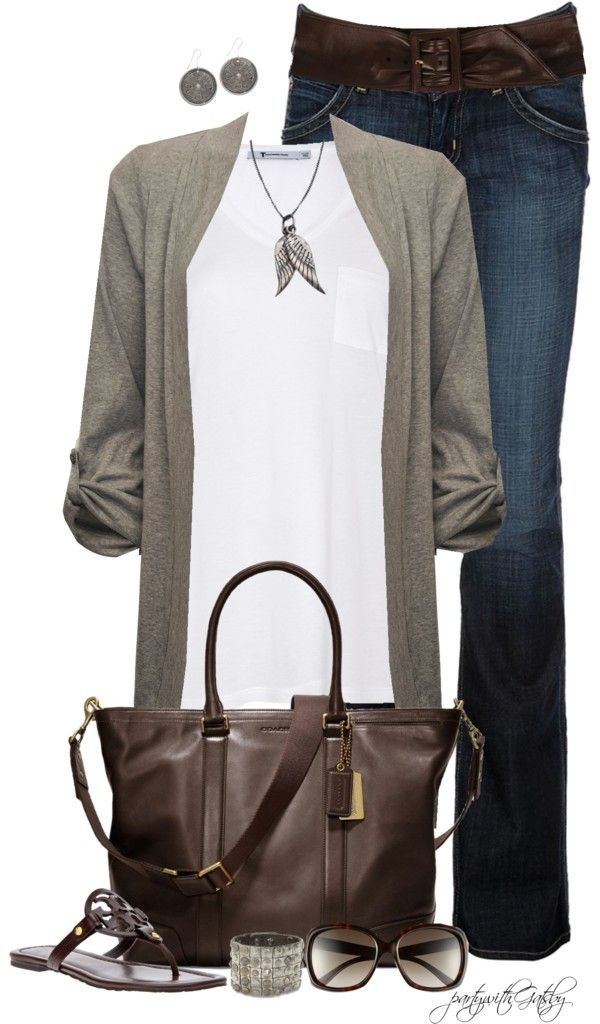 Polyvore. Fall fashion. Fashion for women over 40.
