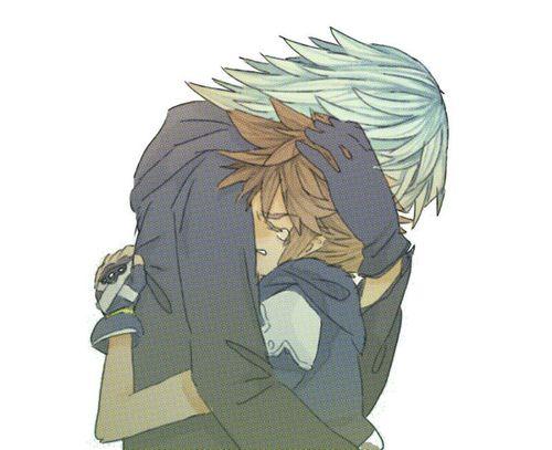 Sora looked for you for sooooooooooooooo looooonnng!!!!! We all cried when they reunited!