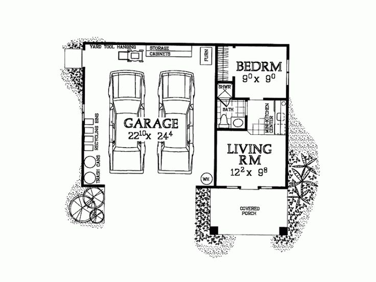 one story garage apartment floor plans garage apartment plans one story woodworking projects plans 3380