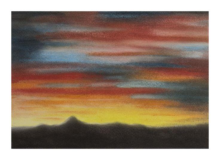 Sunset Chalk