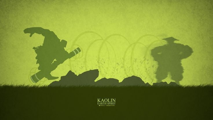 Earth Spirit Minimal Wallpaper, more: http://dota2walls.com/earth-spirit/earth-spirit-minimal-wallpaper