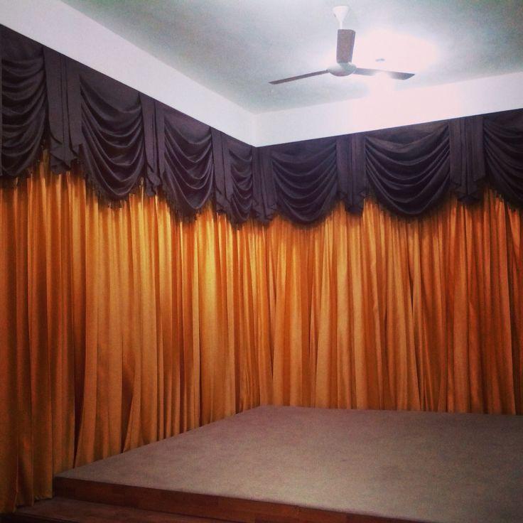 1000 images about cortinas para iglesias on pinterest for Cortinas moradas para salon