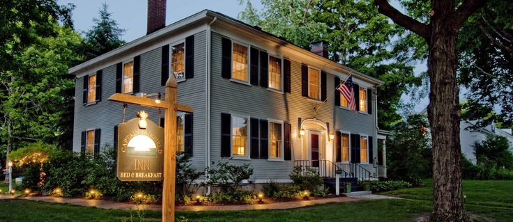 Kennebunkport maine bed and breakfast :: Captain Fairfield Inn
