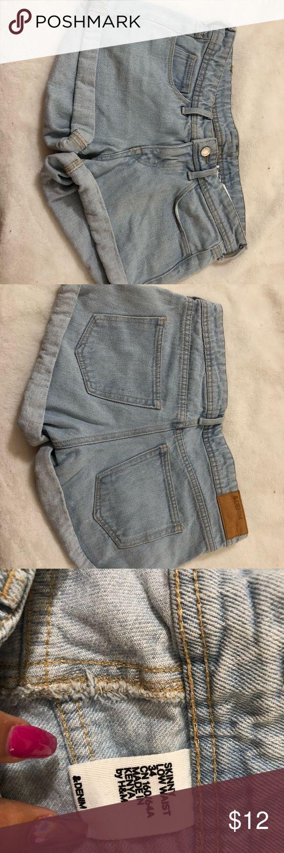 H&M shorts Denim h&m shorts H&M Shorts Jean Shorts