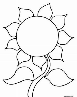 image result for sunflower templates pattern sunflowers