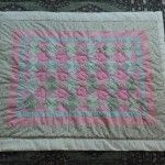 """Baby quilt  """"Sweetheart"""" for a friend"""