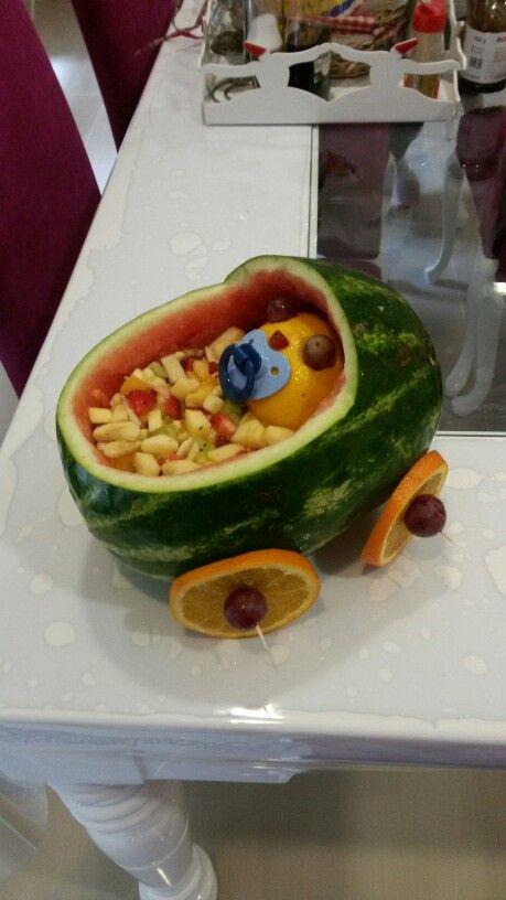 Baby fruit salat.yaptım oldu.