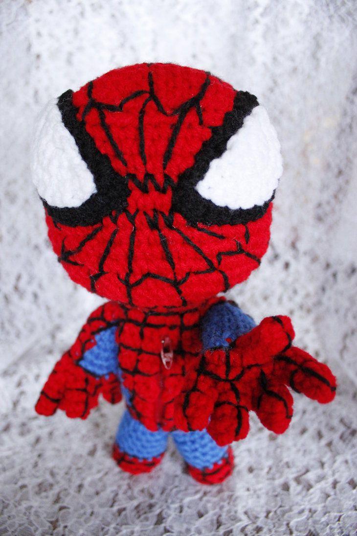 Las 18 mejores imagenes sobre spider man yarn en Pinterest