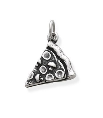 Pizza Slice Charm: James Avery I want this ring so bad! Because when I was pregnant with Liam, all I wanted to eat was pizza! Lol