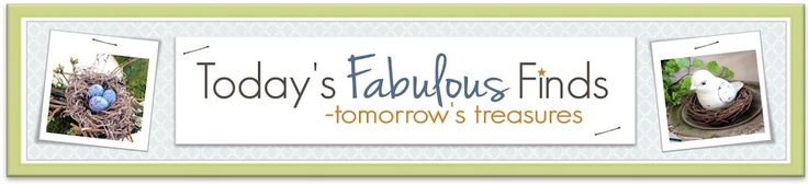 Many ideas....Today's Fabulous Finds is all about turning each days fabulous craft, home decor, and thrift finds into tomorrow's little treasures.