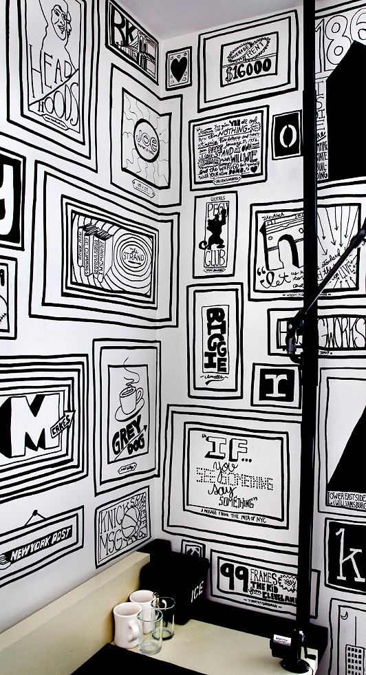If Its Hip, Its Here: If Walls Could Talk. Timothy Goodmans Mural for the Ace Hotel, New York.