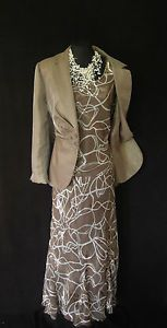 An idea for my brown dress/tan jacket