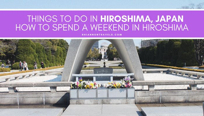 Hiroshima is filled with beautiful, relaxing places to visit. Hiroshima Peace Park and Memorial, Shukkeien Garden and Hiroshima Garden are must-sees!