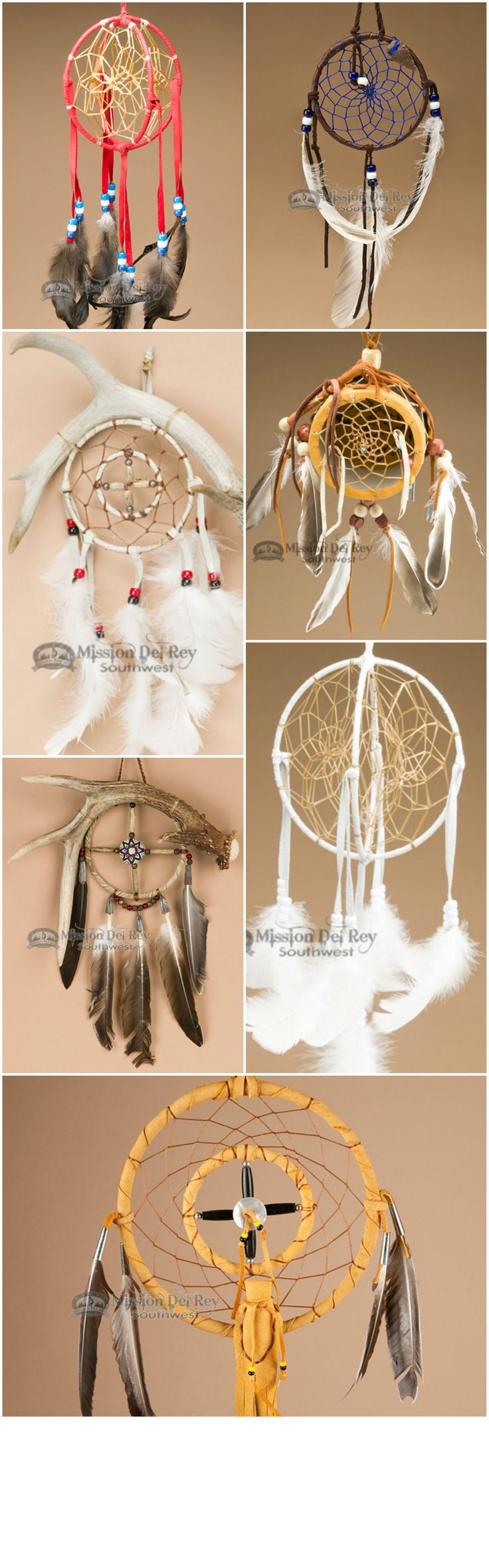See our quality, handcrafted Native American dreamcatchers in a wide variety of styles and colors.  Our dream catchers are authentic Native American, and are hand made with exquisite detail.  Find the perfect dream catcher to add to your Native American collection or southwest decor at http://www.missiondelrey.com/native-american-dream-catchers/