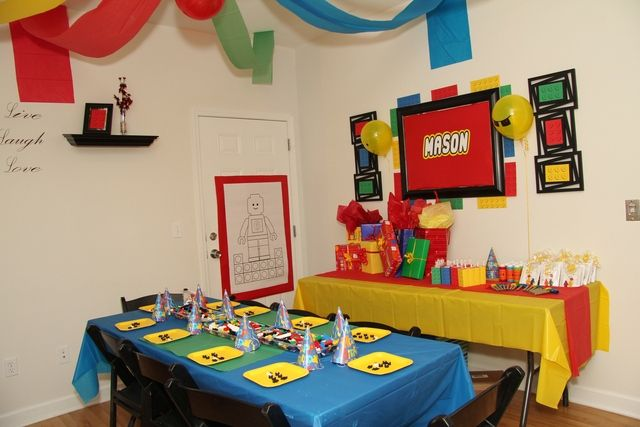 Legos Birthday Party Ideas | Photo 17 of 25 | Catch My Party