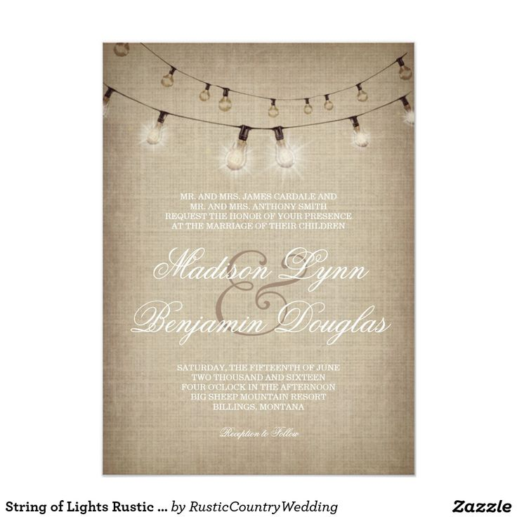 8306 best Country Style Wedding Invitations, Ideas, Inspirations ...